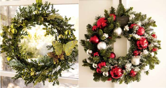 ideas originales para coronas navideas with ideas originales para navidad